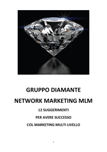 gruppo diamante network marketing mlm