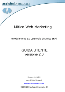 Guida Web Marketing - Assist Informatica