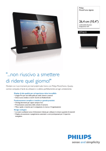 SPF4610/12 Philips PhotoFrame digitale