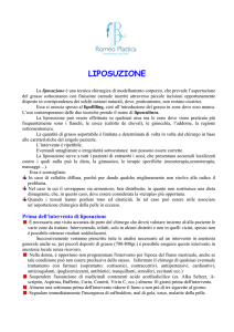 liposuzione - Romeoplastica.it