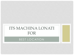 ITS MACHINA LONATI FOR