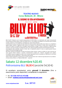 Locandina Billy Elliott
