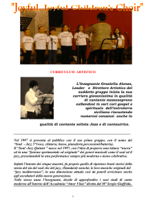 CORO joyful CURRICULUM