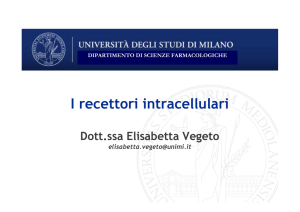 I recettori intracellulari