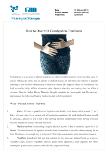 How to Deal with Constipation Conditions