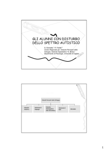 Datazione di autismo e relazioni di alto funzionamento