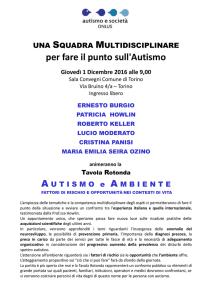 Datazione ragazzo autistico