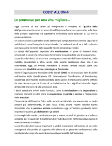 COS`E` ALL ON-4 Le premesse per una vita migliore…