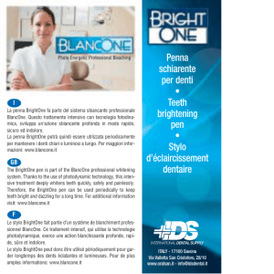 BrightOne bugiardino - International Dental Supply