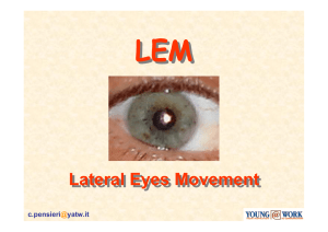 Lateral Eyes Movement Lateral Eyes Movement