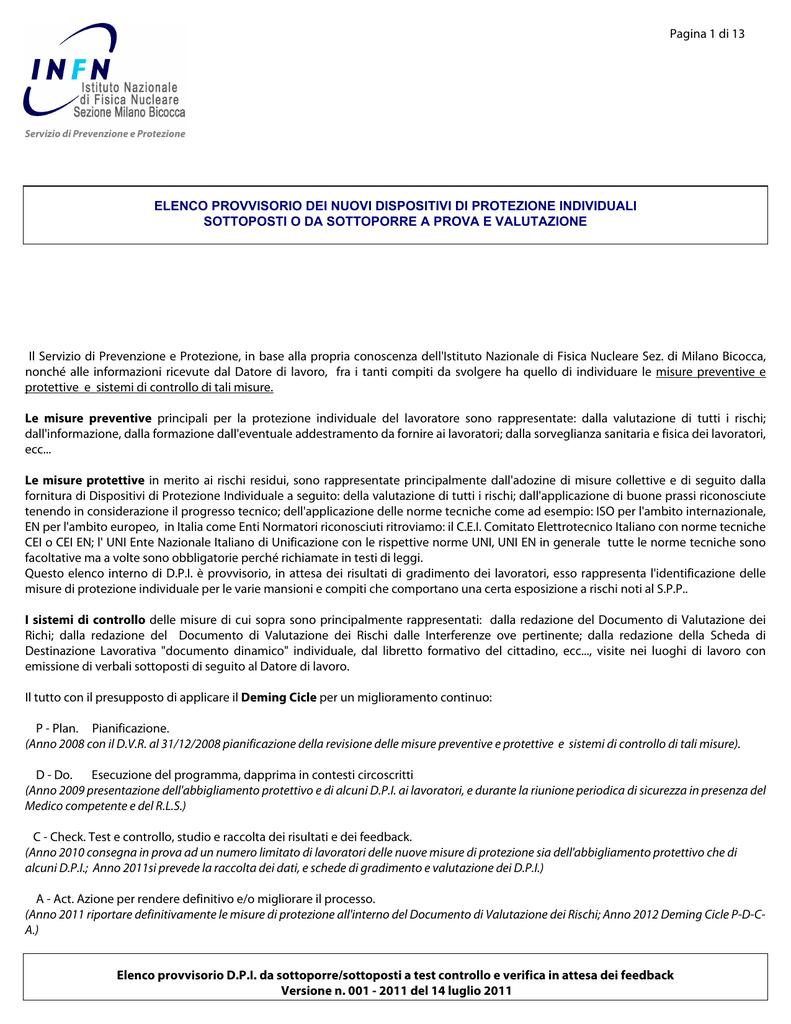 anteprima di vendite speciali selezione straordinaria ELENCO PROVVISORIO DEI NUOVI DISPOSITIVI DI PROTEZIONE