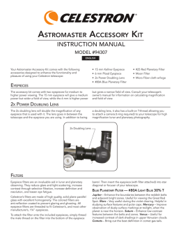 astromaster accessory kit
