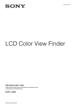 LCD Color View Finder