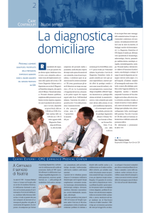 La diagnostica domiciliare