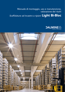 Scaffalature a ripiani Light Bi-Bloc