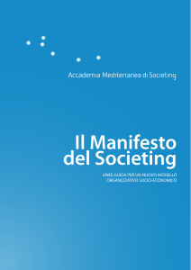 Il Manifesto del Societing