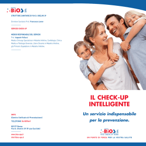 il check-up intelligente