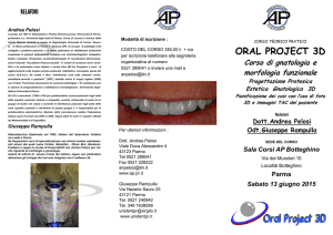 oral project 3d - Accademia Posturocclusale