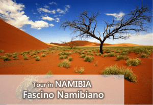 Namibia Tour con volo - ICE Travel Tour Operator