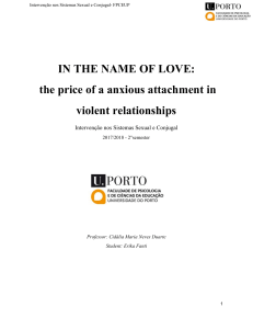 the price of an anxious attachment in violent relationships