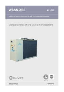 Clivet WSAN - EE - Manuale Ita