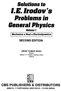 Solutions-to-IE-Irodov-s-Problems-in-General-Physics-Volume-I-Abhay-Kumar-Singh