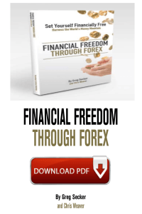 Financial Freedom Through Forex by Greg Secker PDF Free Download eBook