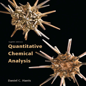 Harris - Quantitative Chemical Analysis - 8th edition