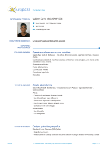CV William David Meli