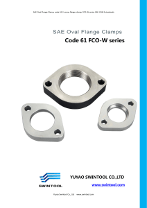 5. SAE 2 bolt screw flange clamps Code 61