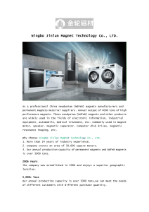 Ningbo Jinlun Magnet Technology Co., LTD
