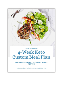 4 Week Custom Keto Diet Plan Pdf Free Download