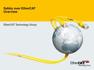 Safety over EtherCAT Overview