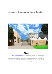 Jiaxing Jinmao Aluminum Co.,Ltd.